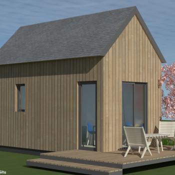 Tiny house - VUE OUEST